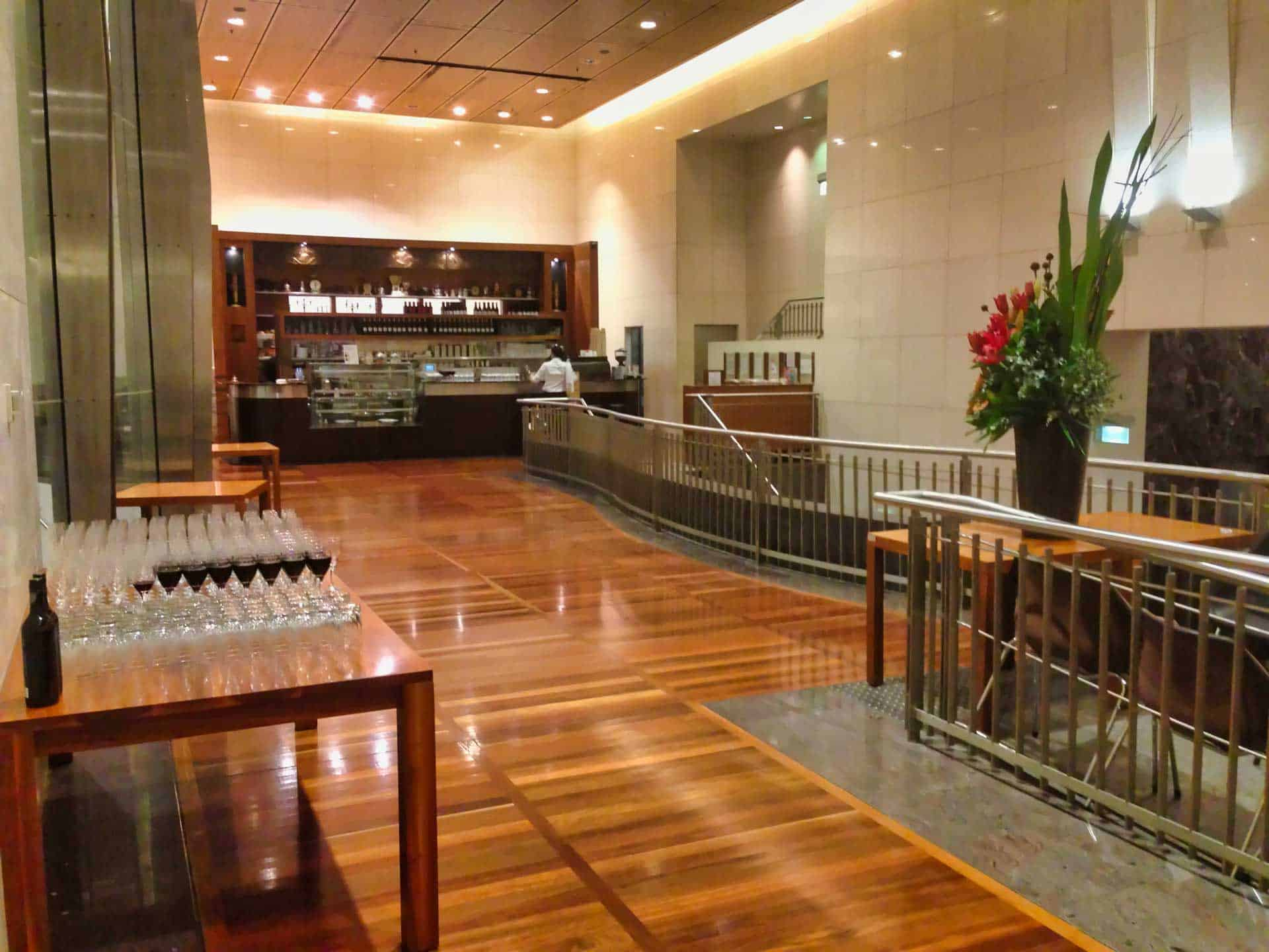 Licensed casual dining at Bar Cupola Cafe Restaurant Angel Place Sydney