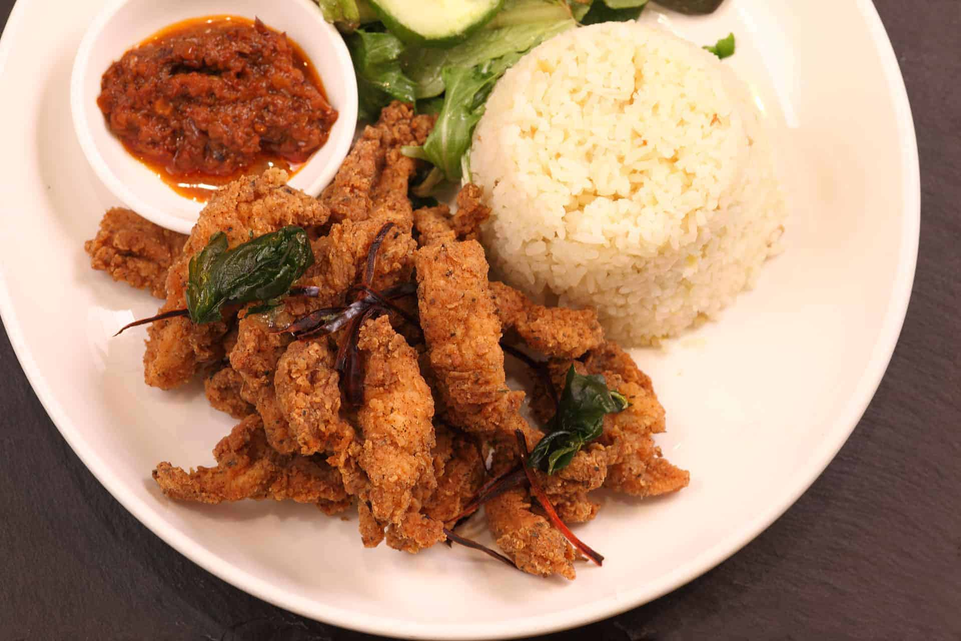 Asian meals for dine in, delivery or take away from Bar Cupola Cafe Restaurant Angel Place Sydney
