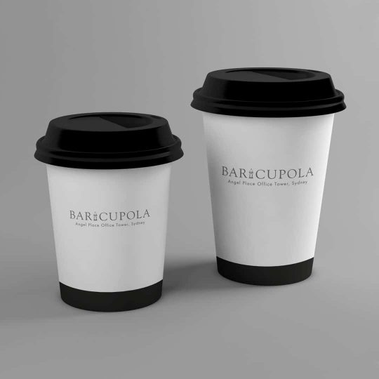Coffee for dine in, delivery or take away from Bar Cupola Cafe Restaurant Angel Place Sydney