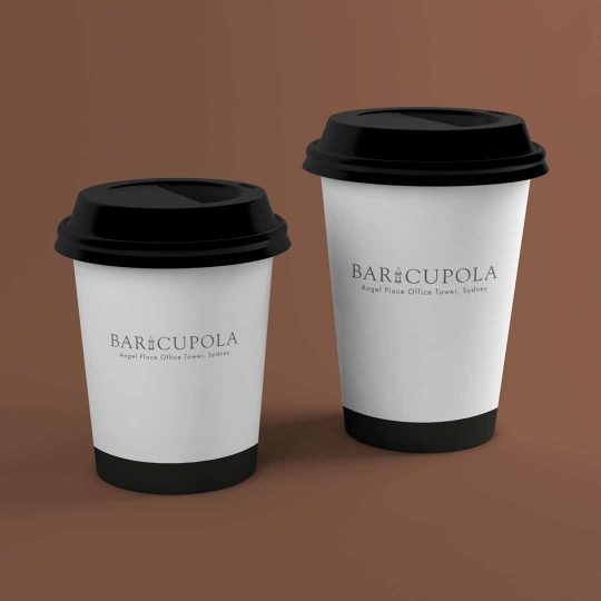 Hot Chocolate delivery and take away from Bar Cupola Cafe Restaurant Angel Place Sydney