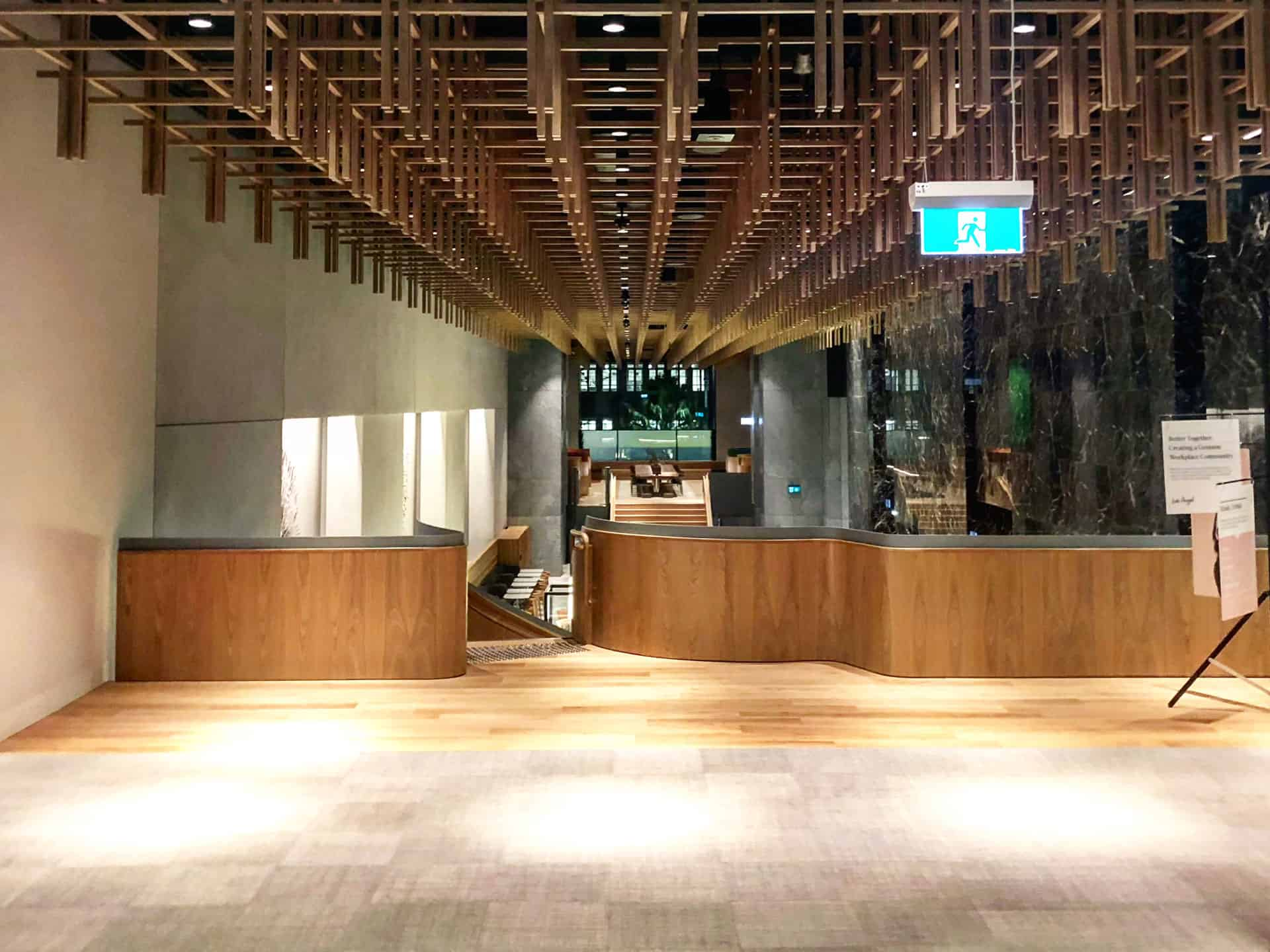 Book your corporate events at Bar Cupola Cafe Restaurant Angel Place Sydney