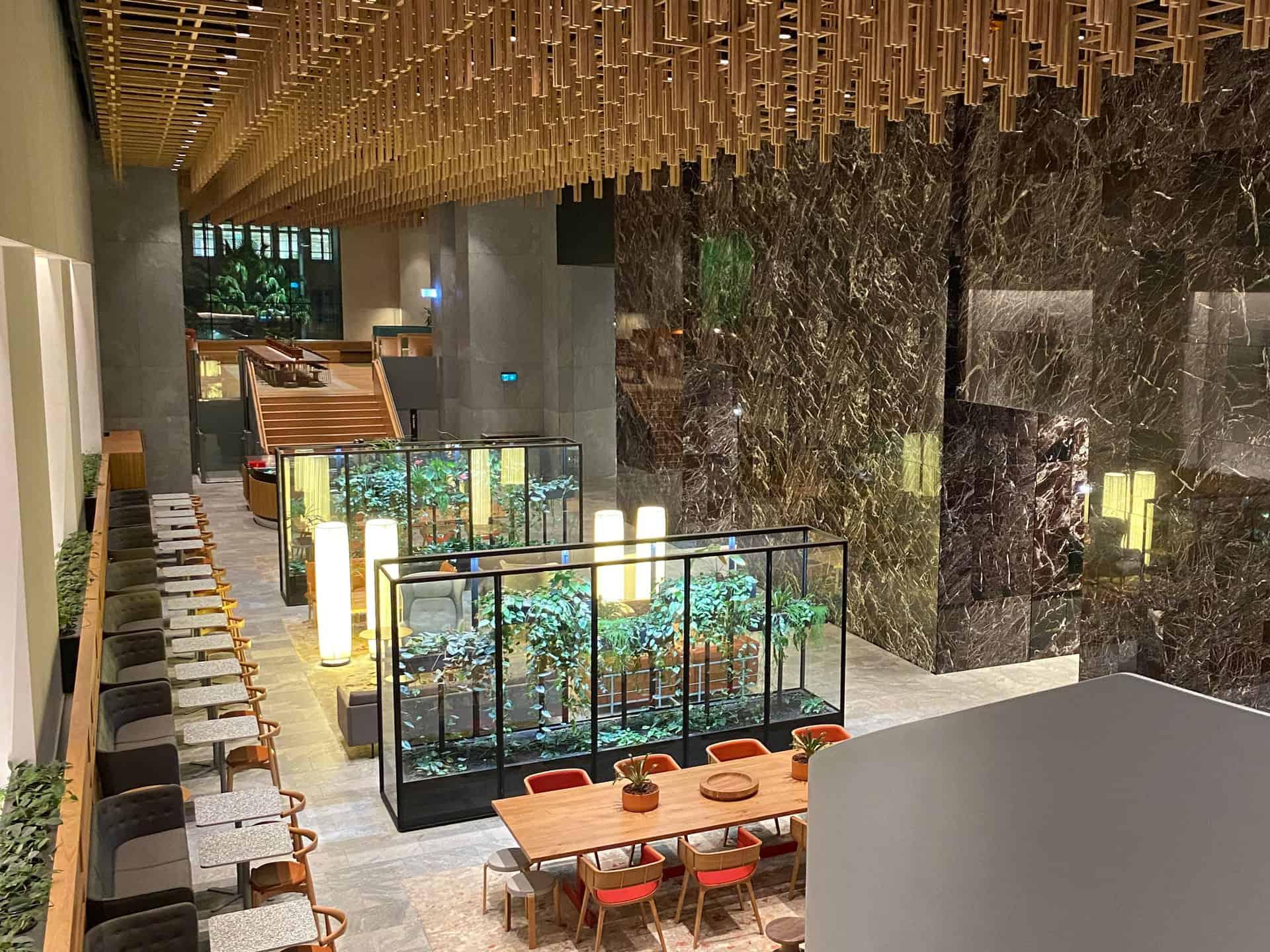 Unique venue for hire at Bar Cupola Cafe Restaurant Angel Place Sydney
